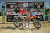 FMF KTM Factory Racing's Taylor Robert clinched the 2019 Sprint Hero Racing Series Championship on Saturday at Glen Helen Raceway