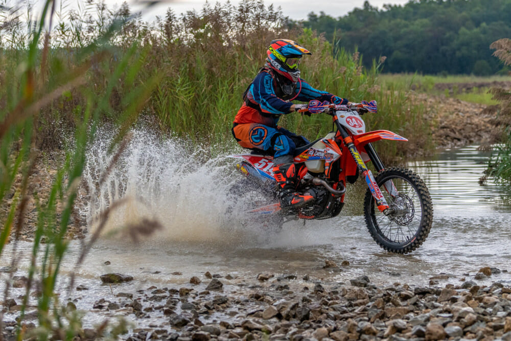 Steward Baylor Edges Brother Grant at Lead Belt National Enduro