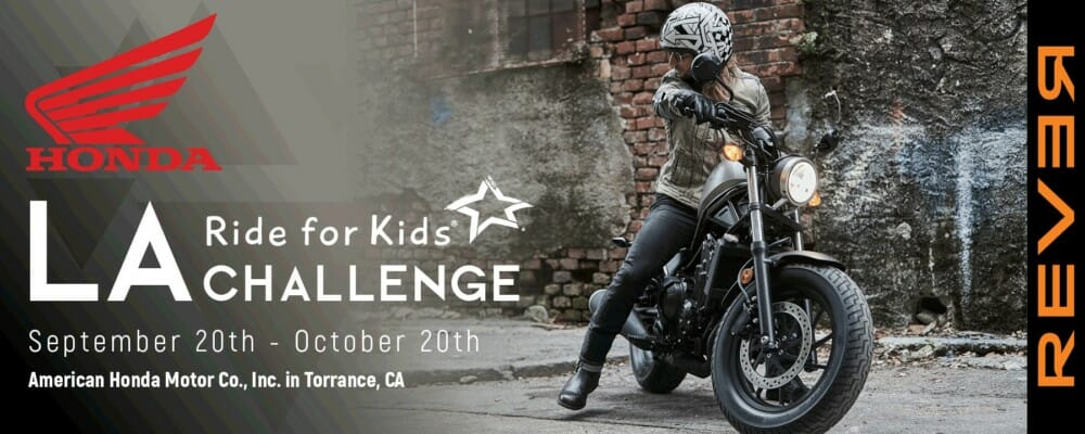 American Honda Motor Co. and Rever join forces in support of the Pediatric Brain Tumor Foundation's upcoming Los Angeles Ride For Kids Event.