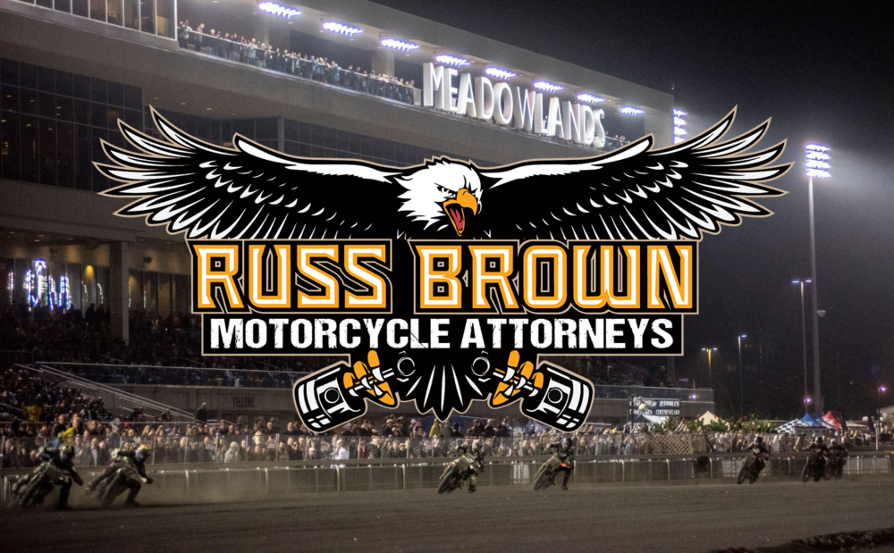 Russ Brown Motorcycle Attorneys Announced as Title Sponsor of AFT Finale Meadowlands Mile