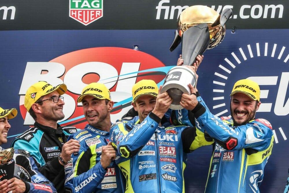 Suzuki Endurance Racing Team Win Bol d'Or