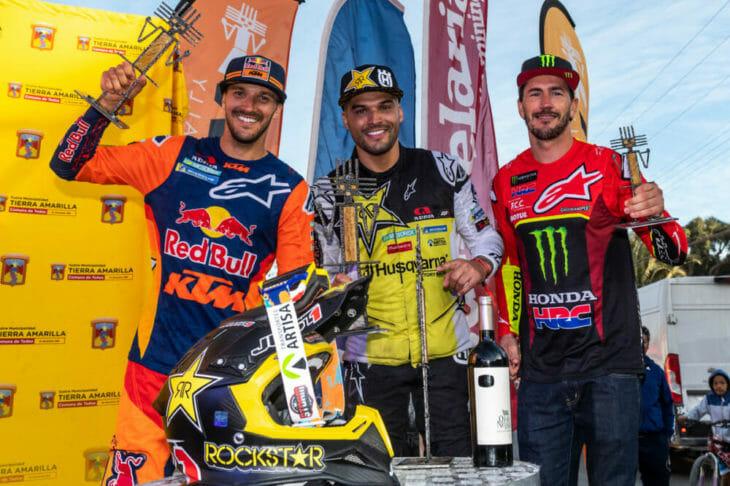 Sam Sunderland and KTM Win 2019 FIM Cross-Country Rallies World Championship