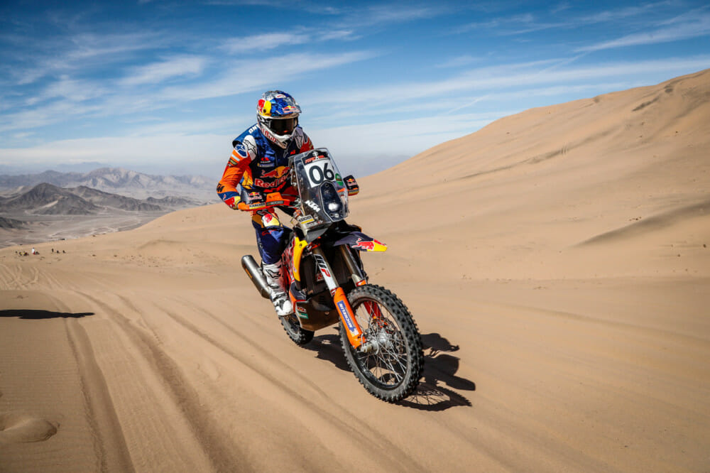 Sam Sunderland and KTM Win 2019 FIM Cross-Country Rallies World Championship