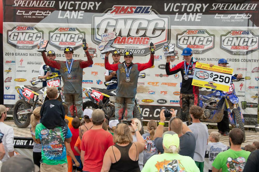 Mason-Dixon GNCC podium