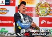 Suzuki GSX-R1000 British Superstock Victory Wallpaper Online