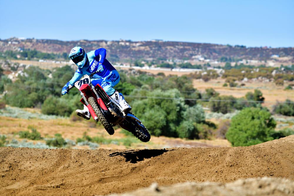 2020 450 Motocross Shootout 5th Place: Honda CRF450R