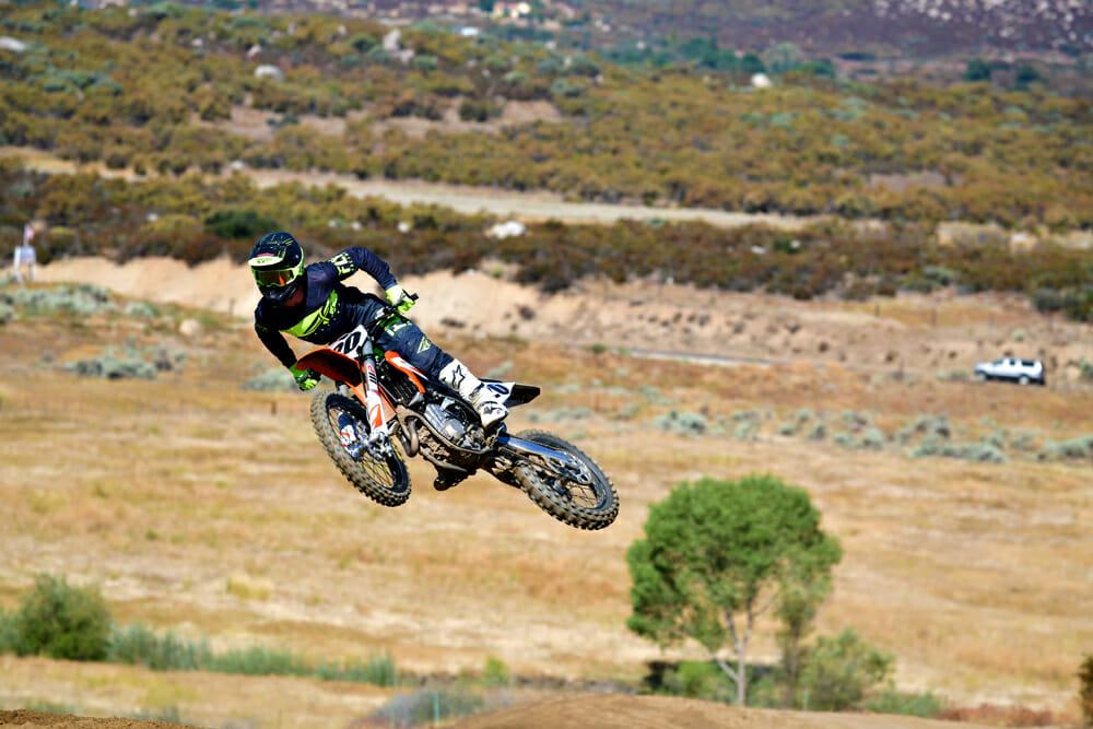 2020 450 Motocross Shootout 3rd Place: KTM 450 SX-F