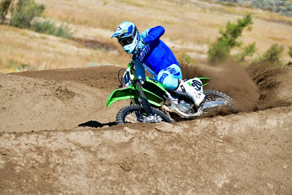 2020 450 Motocross Shootout 4th Place: Kawasaki KX450
