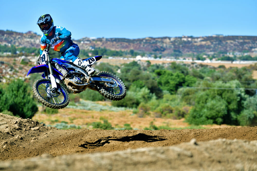 2020 450 Motocross Shootout 1st Place: Yamaha YZ450F