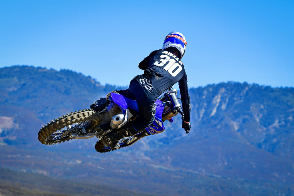 The 2020 Yamaha YZ450F might not be the lightest bike in its class, but it sure feels like it is on the track.