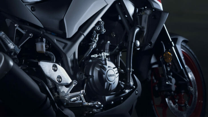 2020 Yamaha MT-03 First Look 2