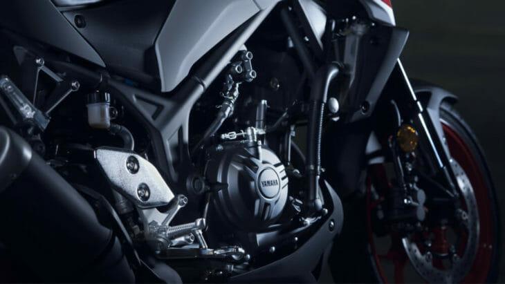2020 Yamaha MT-03 First Look 2