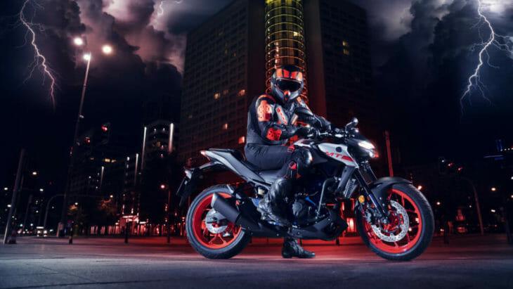 2020 Yamaha MT-03 First Look