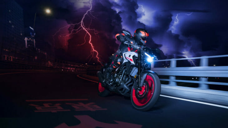 2020 Yamaha MT-03 First Look 11