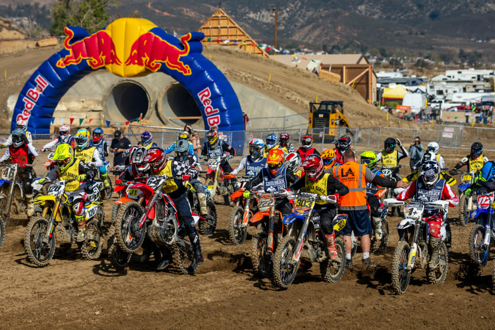 Entries now open for the 22nd annual Red Bull Day in the Dirt happening November 29 - December 1, 2019 at Glen Helen Raceway