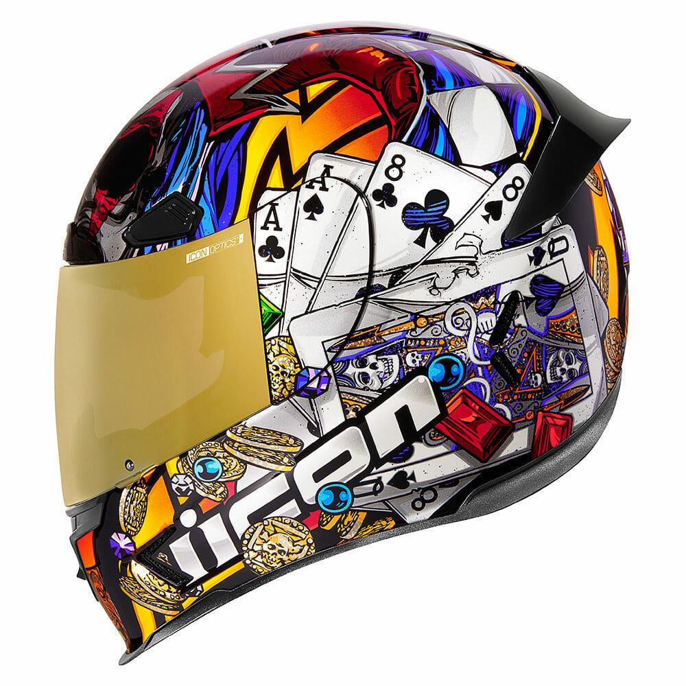 """Icon Airframe Pro """"Lucky Lid 3"""" Helmet"""
