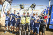 Rockstar Energy Husqvarna Factory Racing's Andrew Short claims his first-ever FIM Cross-Country Rallies Victory; Pablo Quintanilla finishes as runner-up.
