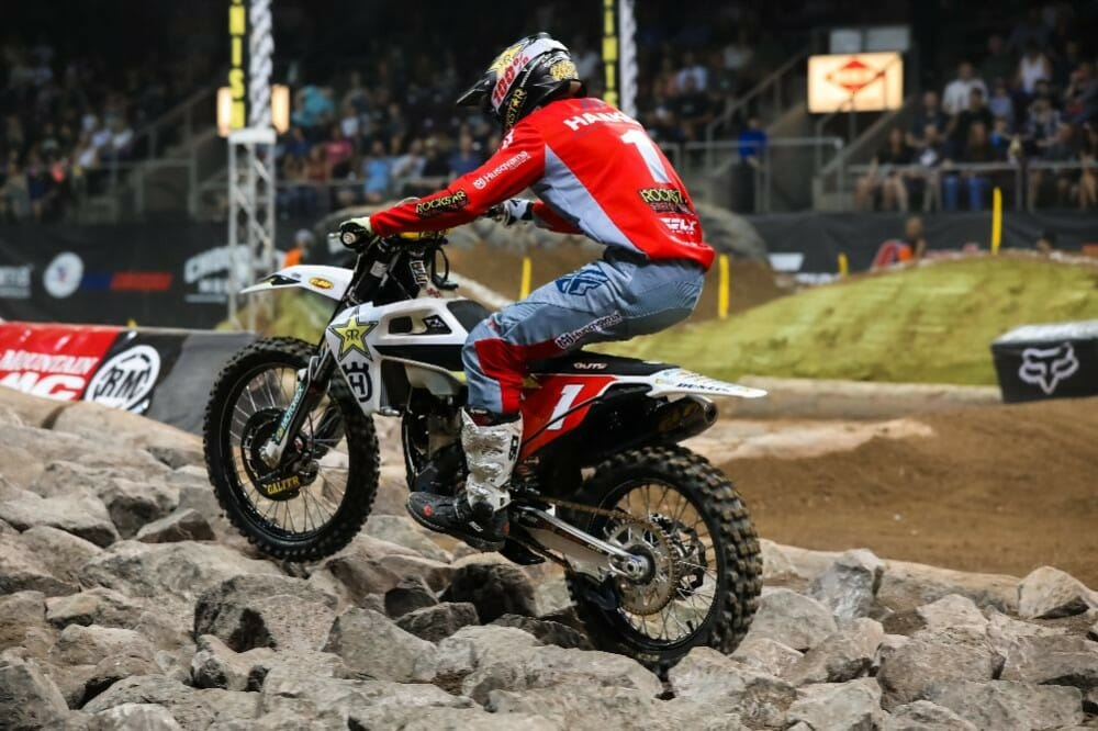 Colton Haaker will be aiming to claim his third AMA EnduroCross championship this weekend.