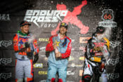 Colton Haaker (center), Taddy Blazusiak (left) will decide the 2019 AMA EnduroCross title this weekend at the finals in Boise, Idaho.