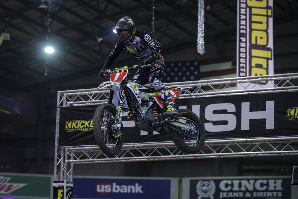 Colton Haaker rode well in Denver but could not find a way to beat Blazusiak. Photo: Jack Jaxon.