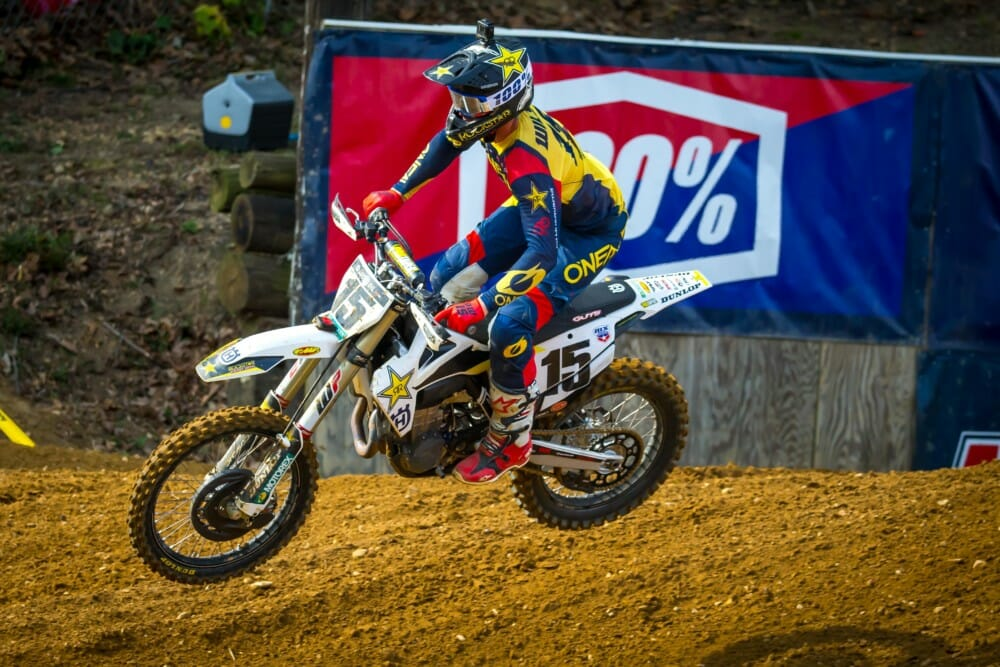 Rockstar Energy Husqvarna Factory Racing Team Extends Contract with Dean Wilson