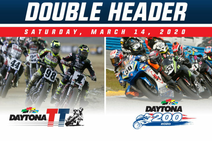 Daytona TT and Daytona 200 Combine for 2020 Doubleheader Event on Saturday, March 14