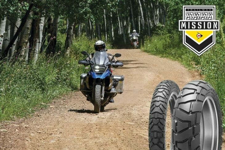 Dunlop Introduces the High-Tech Trailmax Mission Adventure Tire