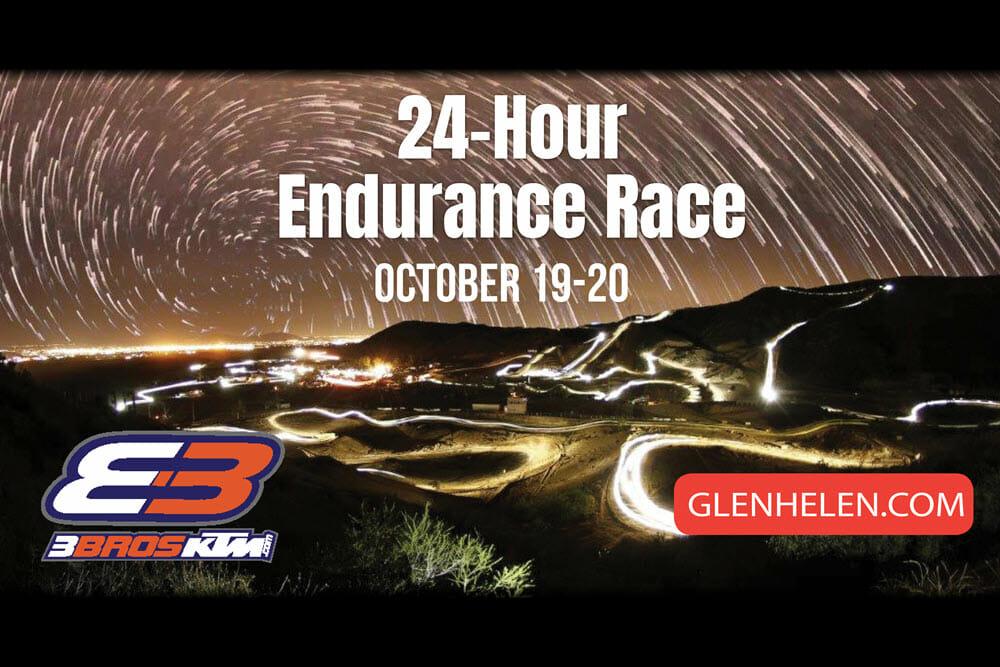 Glen Helen Raceway to Host 3 Bros 24-Hour Endurance Race