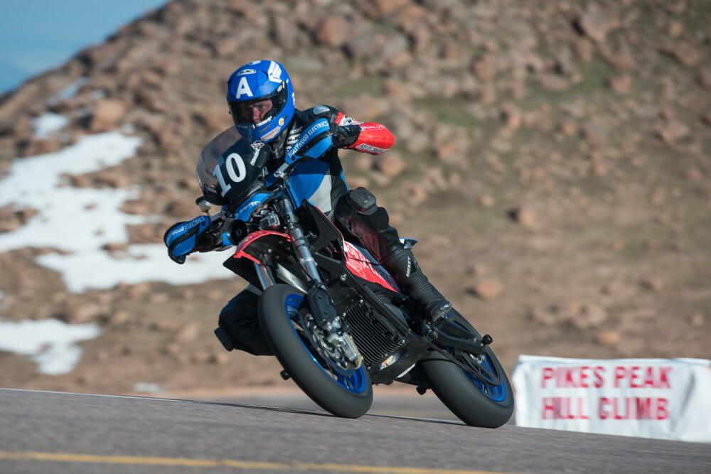 Hollywood Electrics Custom Zero FXS Pikes Peak Int'l Hill Climb Racer 01
