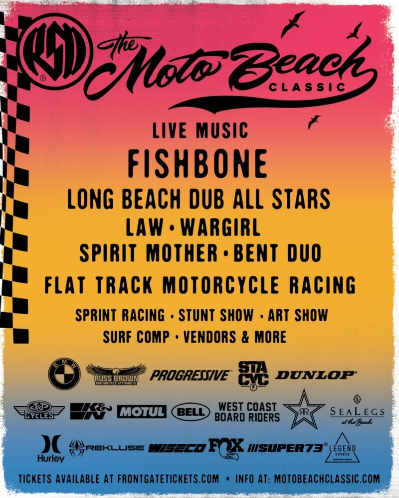 The Moto Beach Classic returns to Bolsa Chica Saturday, October 26th