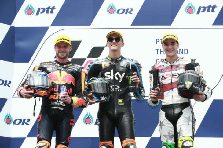 Moto2-podium-Thailand-Sun-2019