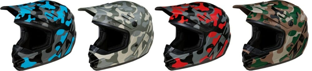 Z1R Rise Off-Road Camo Helmets