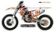 DeCal Works KTM Straight Rhythm Retro Graphics