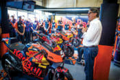 When KTM President/CEO Stefan Pierer talks, people listen.