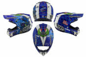 Troy Lee Designs SE4 Composite Helmet Featuring Malcolm Smith