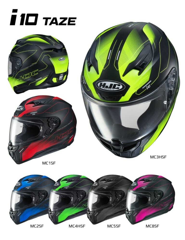 The brand-new i10 helmet from HJC replaces one of HJC's best sellers, the CL-17.