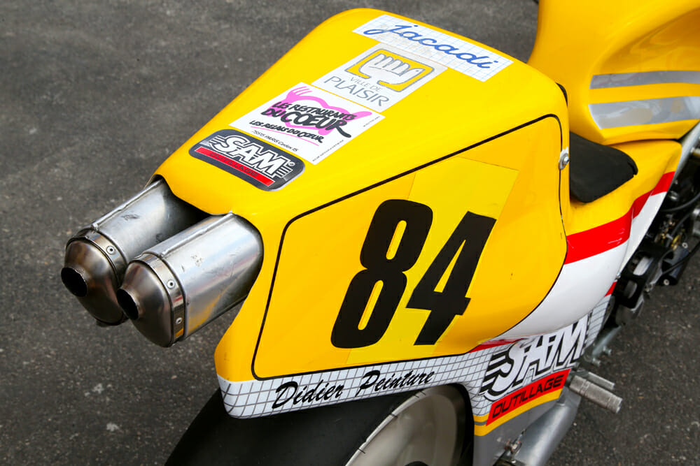 1984 Chevallier Honda RS500 exhaust