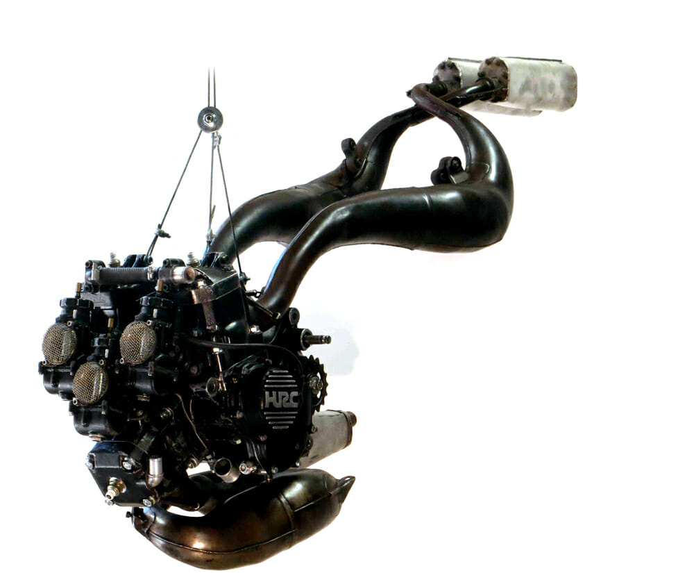 1984 Chevallier Honda RS500 engine