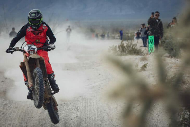 2019 Baja 1000 Motorcycle Results SLR Honda Action