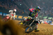 2019 Paris Supercross Results Justin Barcia and Malcolm Stewart action