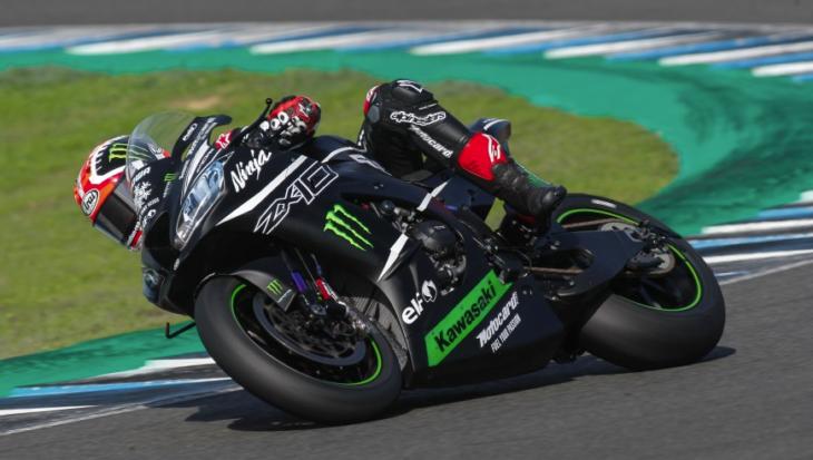 2019 Jerez WorldSBK Test Results Rea