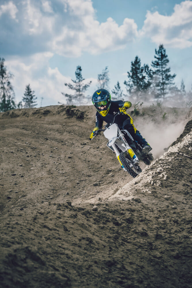 The all-new Husqvarna EE 5 electric Minibike is eligible to compete in the new Mini-E (4-6) Jr. class for the 2020 AMA Amateur National Motocross Championship season.