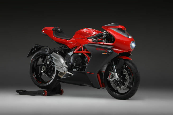 2020 MV Agusta Superveloce 800 First Look