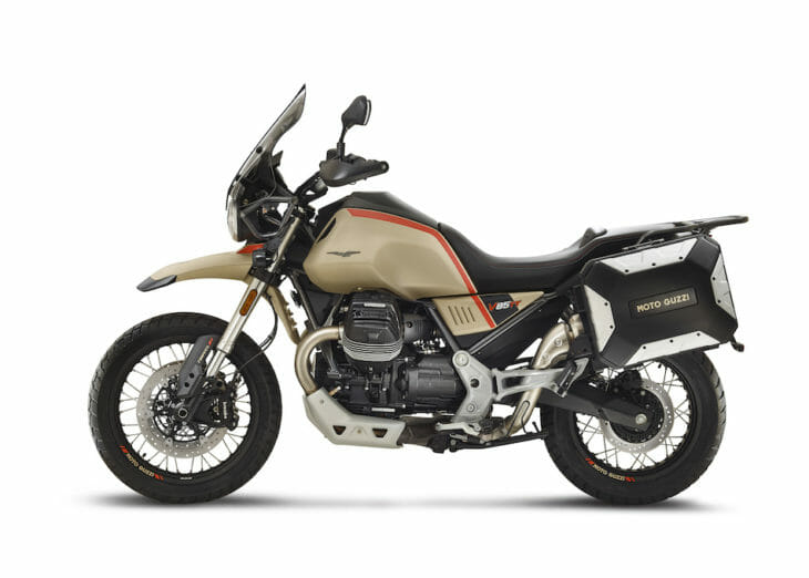 2020 Moto Guzzi V85 TT First Look