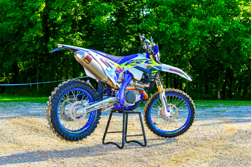 The Sherco 300 SEF underwent a major overhaul for model year 2019 but received only a few updates for 2020, but that doesn't matter to us, since we didn't see many last year here in the U.S. That should change this year.
