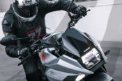 First Demo Rides in USA for 2020 Suzuki Katana at 2019 IMS Long Beach