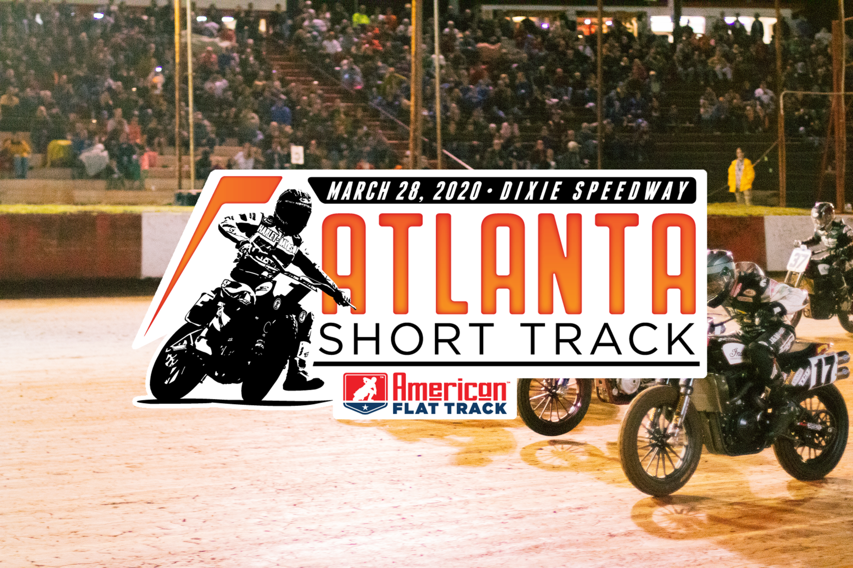 American Flat Track Returns to Dixie Speedway in 2020