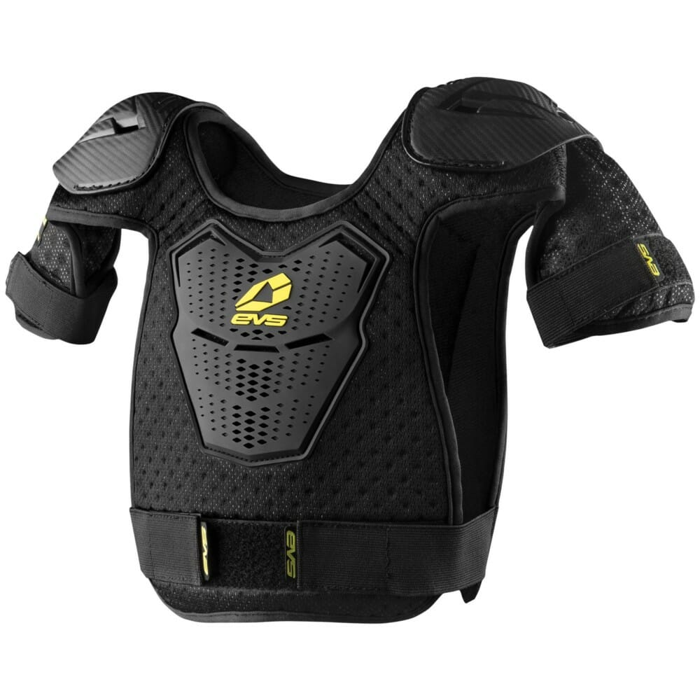 The EVS Sports Bantam Youth Roost Deflector offers all the protection of an adult piece, but is sized for youth.