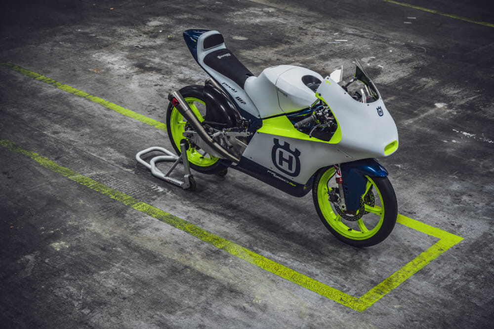 Husqvarna Motorcycles Returns to Moto3 Competition with Max Racing Team | Satellite team owned by Max Biaggi will field Romano Fenati and Alonso Lopez in the 2020 season on the new Husqvarna FR 250 GP machine.