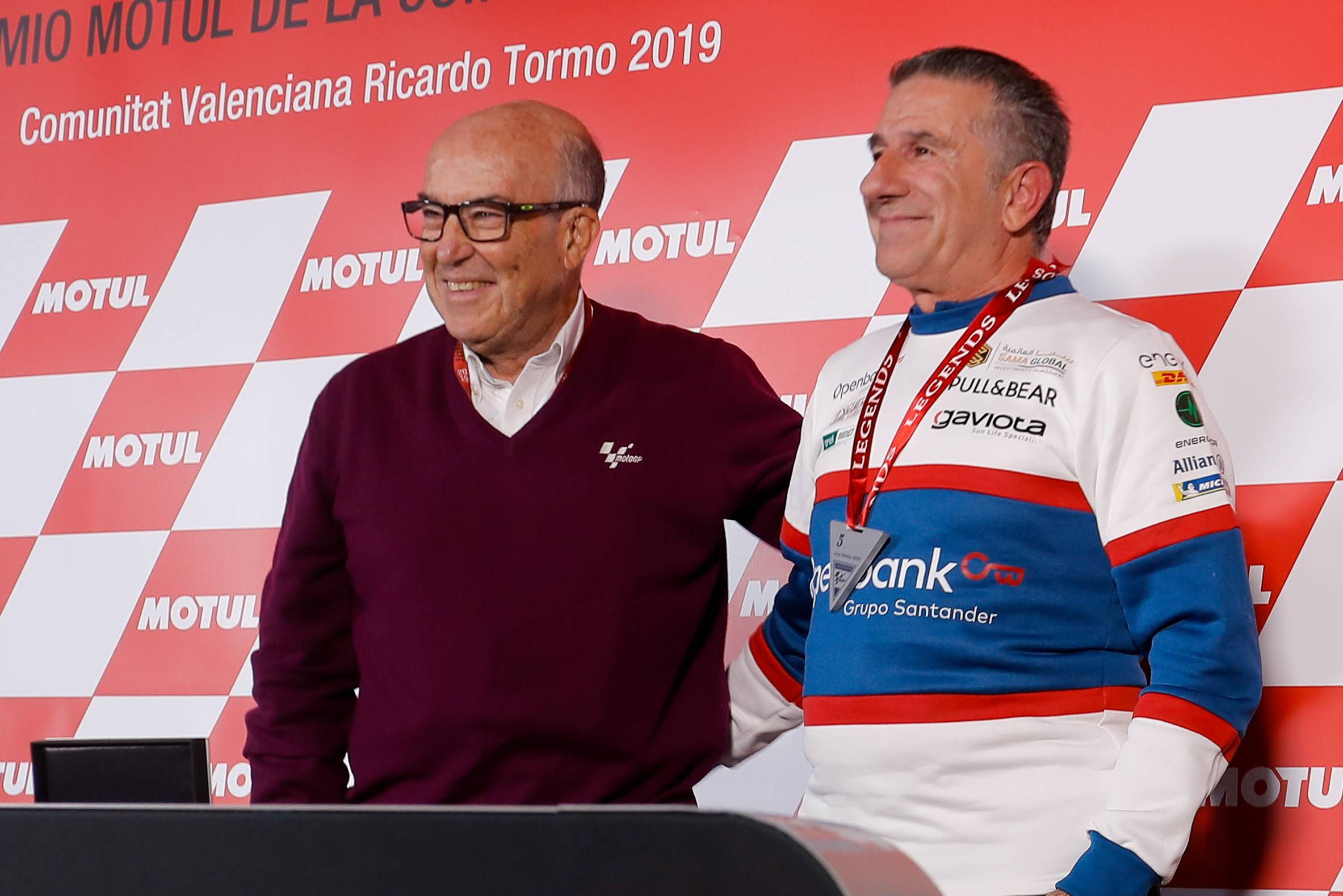 """Four-time World Champion Jorge Martínez """"Aspar"""" joins a select group of riders in the history of Grand Prix racing, including the likes of Ángel Nieto and Giacomo Agostini, as a MotoGP Legend."""